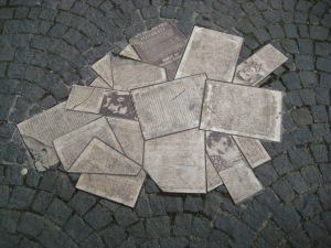 Portion of the White Rose Memorial
